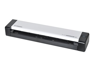 Visioneer RoadWarrior 4D - Sheetfed scanner - Duplex - 8.5 in x 32 in - 600 dpi - up to 100 scans per day - USB 2.0 - TAA Compliant
