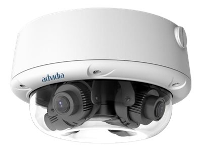 Advidia A-427-V Network surveillance camera dome outdoor vandal / weatherproof