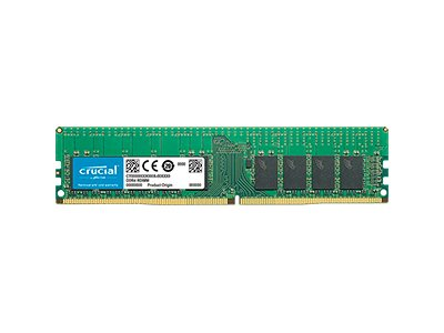 Crucial - DDR4 - module - 16 GB - DIMM 288-pin - 2933 MHz / PC4-23400 - registered