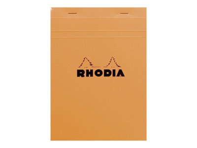 Blocs & Porte blocs RHODIA N°18 - Bloc notes - A4 - 160 pages - réglé - 5x5