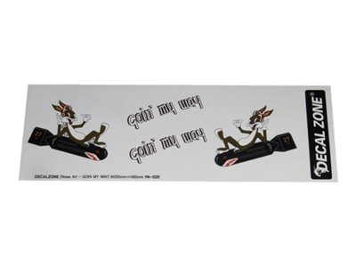 "Decal Zone - Ensemble d'adhésif Nose Art ""Goin' my Way"""
