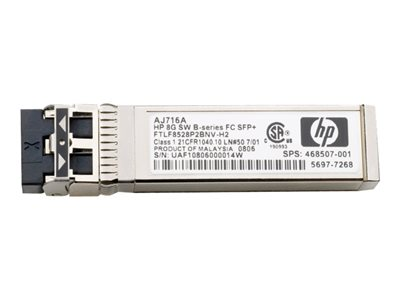 E - modulo transceiver SFP+ - 8Gb Fibre Channel (SW)