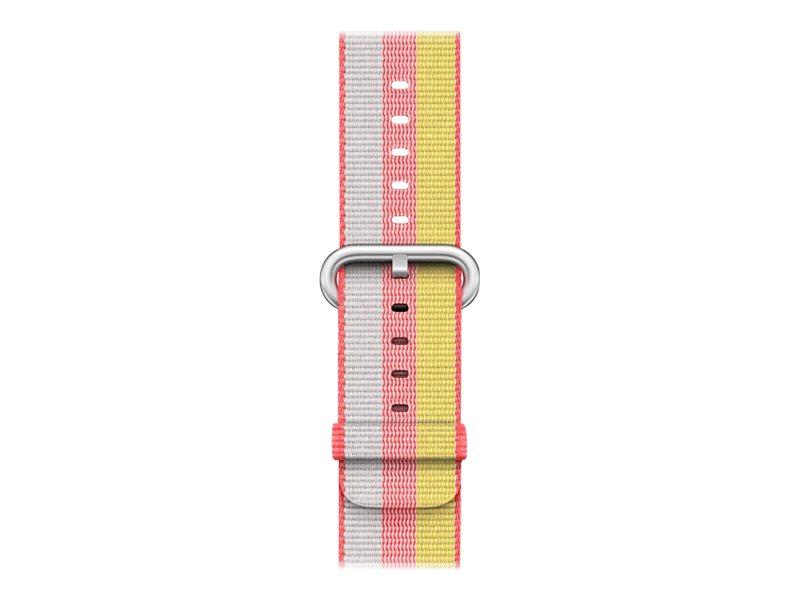 Apple 38mm Woven Nylon Band - Uhrarmband - 125 - 195 mm - Rot - für Watch (38 mm)