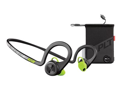 Plantronics Backbeat Fit - Boost Edition - øreproptelefoner med mik.