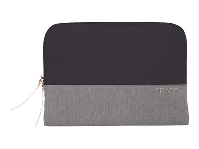 STM Grace Notebook sleeve 15INCH gray cloud