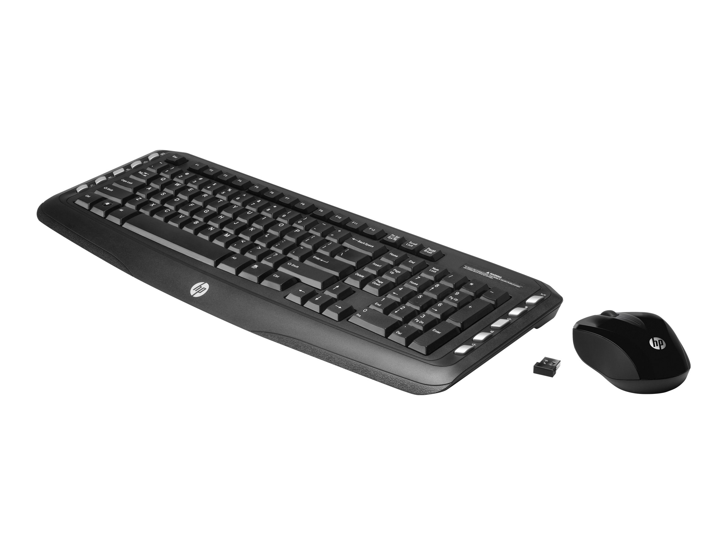HP Classic Desktop - keyboard and mouse set - US