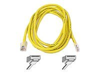 Belkin High Performance patch cable - 9.1 m - yellow