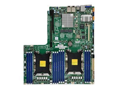 SUPERMICRO X11DDW-L Motherboard Socket P 2 CPUs supported C621 USB 3.0