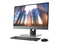 "Dell OptiPlex 7760 All In One - Tout-en-un - 1 x Core i5 8500 / 3 GHz - RAM 8 Go - SSD 256 Go - UHD Graphics 630 - GigE, 802.11ac Wave 2, Bluetooth 5.0 - LAN sans fil: 802.11a/b/g/n/ac Wave 2, Bluetooth 5.0 - Win 10 Pro 64 bits - technologie Intel vPro - moniteur : LED 27"" 1920 x 1080 (Full HD) écran tactile - BTP"
