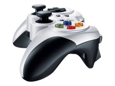 Logitech Wireless Gamepad F710 Hvid Sort