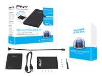 """PNY SSD Accessories Kit - Boitier externe - 2.5"""" - USB 3.0"""
