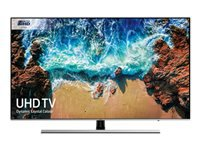 "Samsung UE55NU8000T - 55"" Class 8 Series LED TV - Smart TV - 4K UHD (2160p) 3840 x 2160 - HDR - UHD dimming, Ultra Slim Array - slate black, eclipse silver"