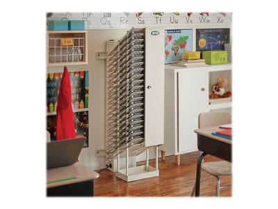 Tripp Lite AC Charging Station Tower 32-Device Open Frame Chromebooks White