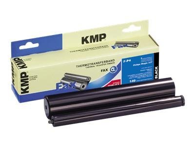 KMP F-P4 - 1 - Schwarz - 212 mm x 45 m - Farbband (Alternative zu: Philips PFA 331) - für Philips Magic 3-2 Colour DECT SMS, 3-2 Primo