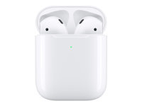 Picture of Apple AirPods with Wireless Charging Case - 2nd Generation - true wireless earphones with mic (MRXJ2