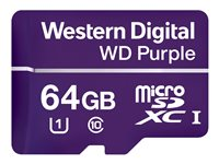 WD Purple WDD064G1P0A - Tarjeta de memoria flash - 64 GB