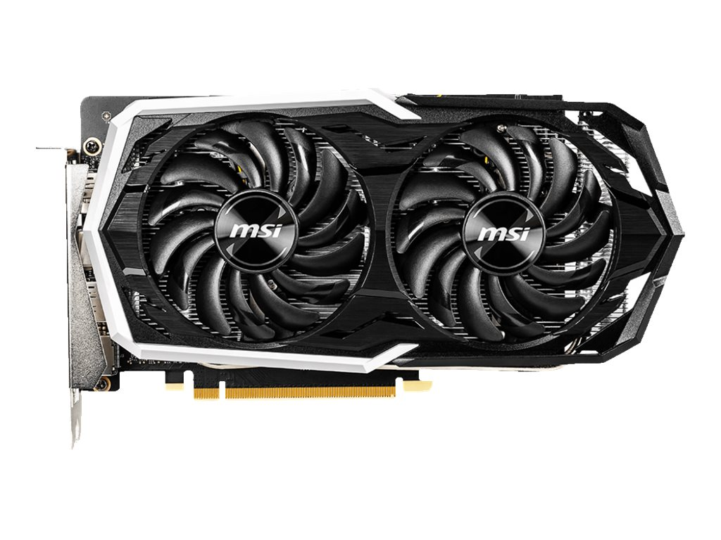 MSI GTX 1660 Ti ARMOR 6G OC - graphics card - GF GTX 1660 Ti - 6 GB - black & white
