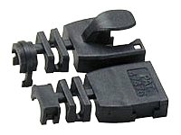 LINDY Post-assembly RJ-45 Male Strain Relief Boot - Network cable boots