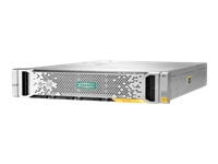 HPE StoreVirtual 3200 SFF - Hard drive array - 3.6 TB - 25 bays (SAS-3) - HDD 600 GB x 6 - iSCSI (1 GbE) (external) - rack-mountable - 2U - Top Value Lite