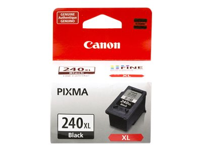 Canon PG-240XL XL pigmented black original ink cartridge