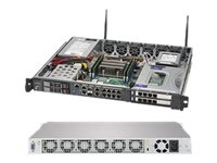 Supermicro SuperServer 1019D-16C-FHN13TP - rack-mountable - Xeon D-2183IT - 0 GB - no HDD