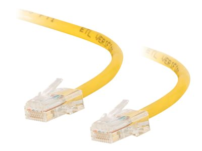 Cable de red cruzado 7m amarillo