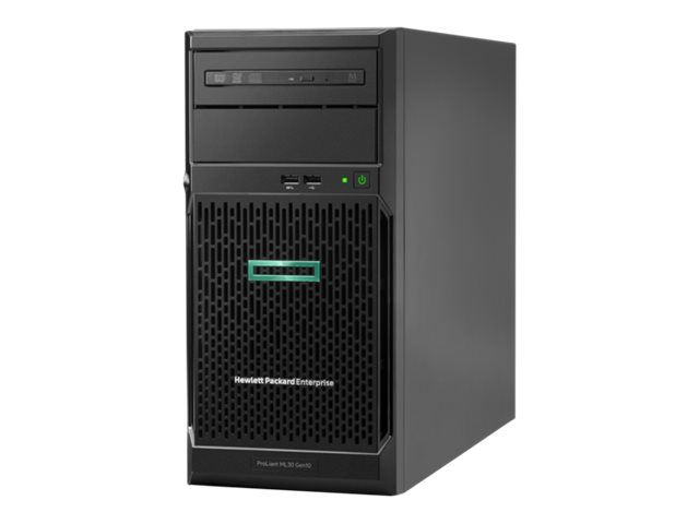 HPE ProLiant ML30 Gen10 - torre - Xeon E-2224 3.4 GHz - 8 GB - sin disco duro