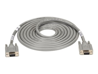 Black Box ED/Q with Nonremovable EMI/RFI Hoods - serial cable - 1.5 m