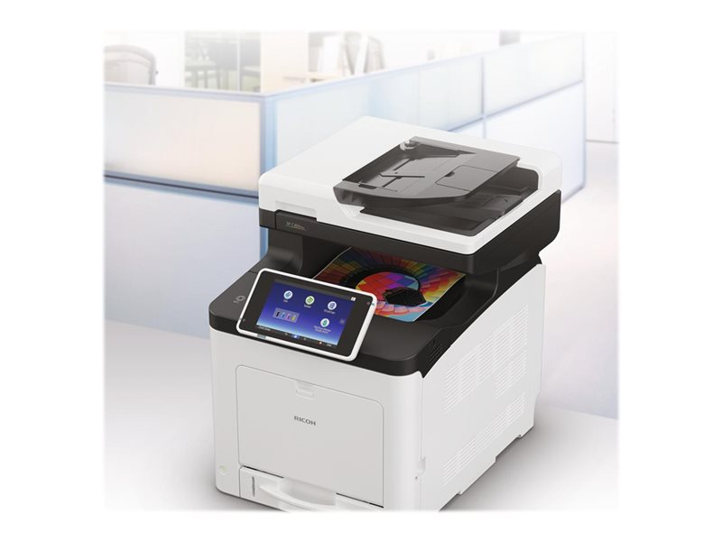 Ricoh SP C361SFNw - Multifunktionsdrucker - Farbe - LED - A4 (Medien)
