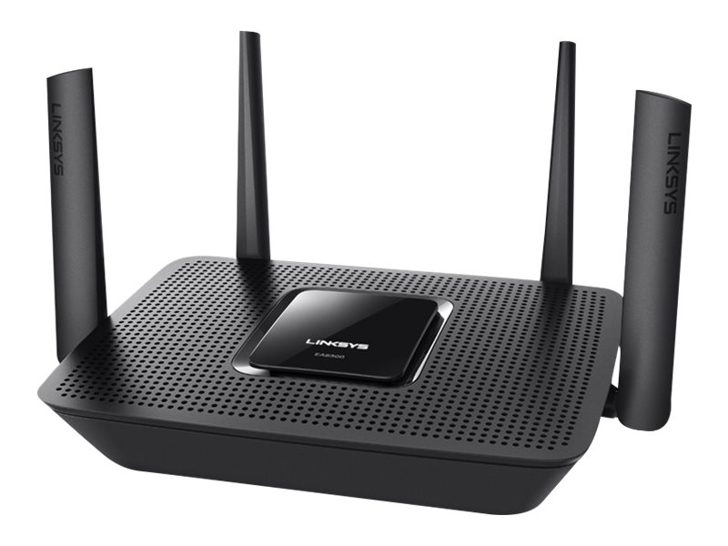 Linksys EA8300 - Wireless Router - 4-Port-Switch - GigE - 802.11a/b/g/n/ac - Tri-Band