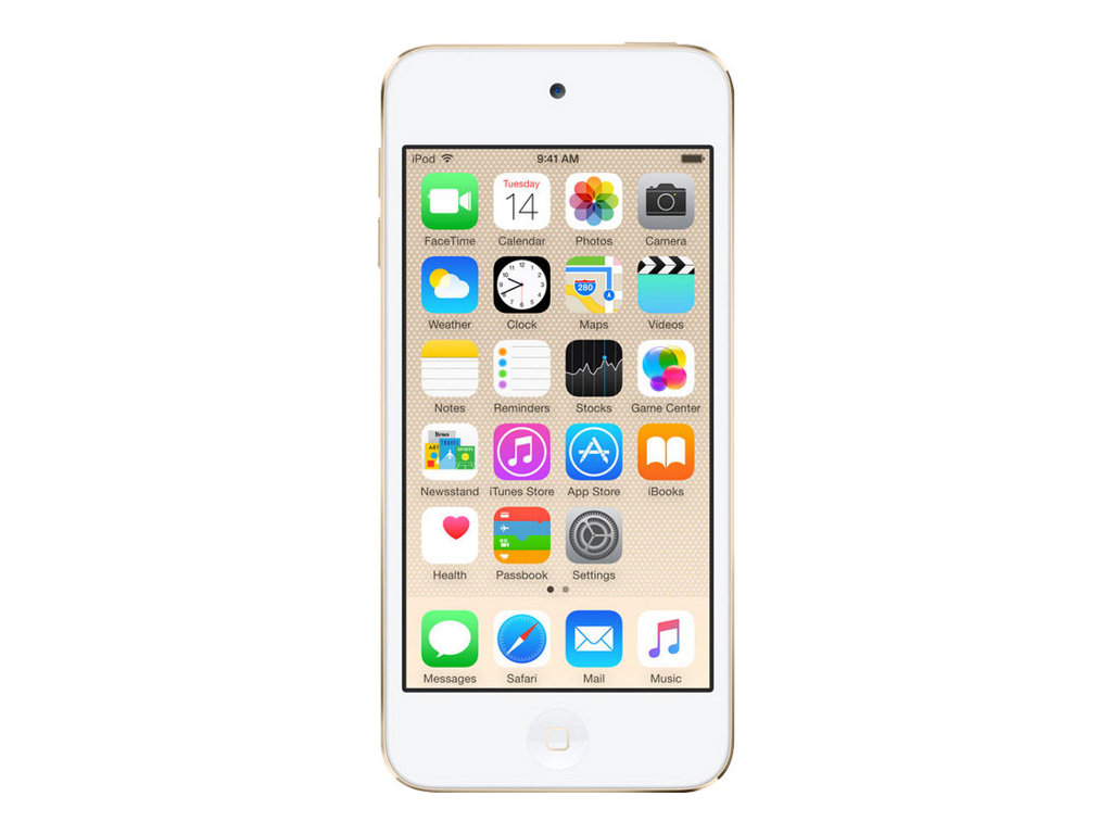 Apple iPod touch - 6. Generation - Digital Player - Apple iOS 8 - 32 GB - Gold