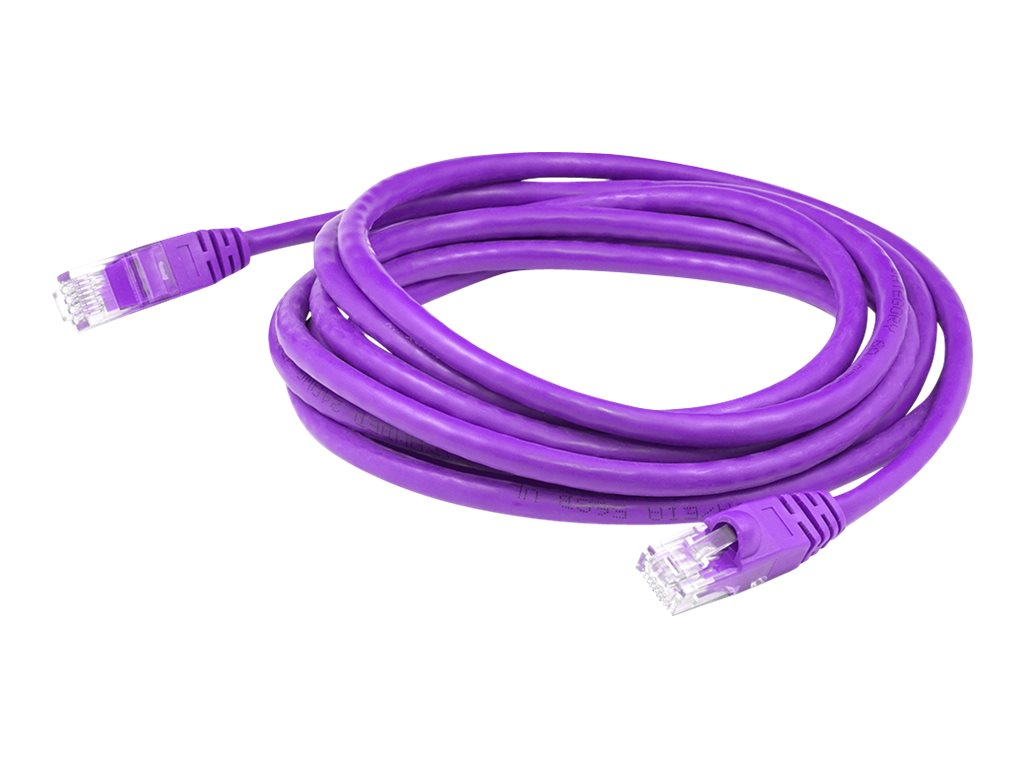 AddOn patch cable - 2.13 m - purple