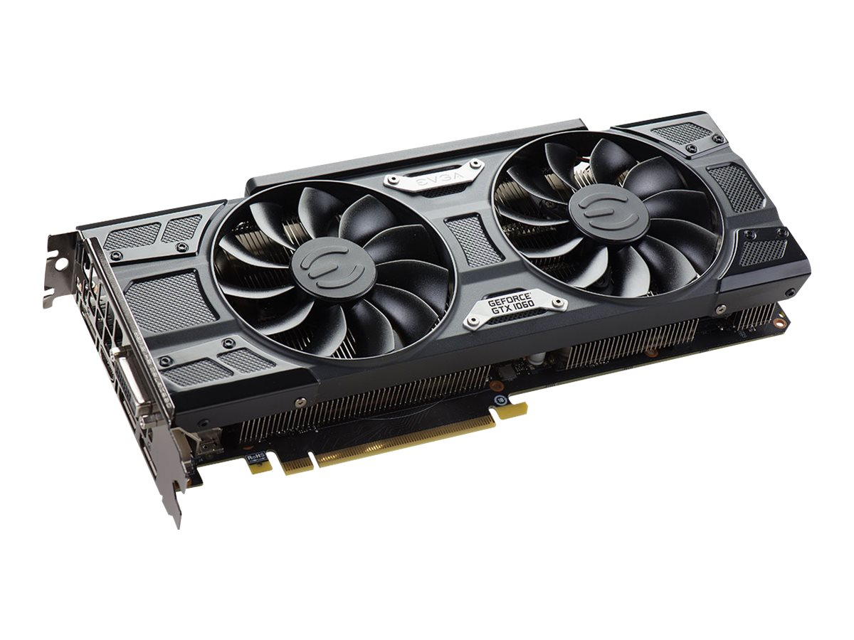 EVGA GeForce GTX 1060 SSC Gaming ACX 3.0 - graphics card - GF GTX 1060 - 6 GB