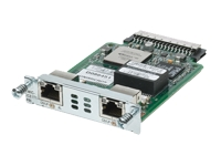 Cisco High-Speed Channelized T1/E1 and ISDN PRI - ISDN terminal adapter - HWIC - ISDN PRI - 2.048 Mbps - T-1/E-1 - digital ports: 2 (64 channels) - for Cisco 2811 2-pair, 28XX, 28XX 4-pair, 28XX V3PN, 29XX, 38XX, 38XX V3PN, 39XX