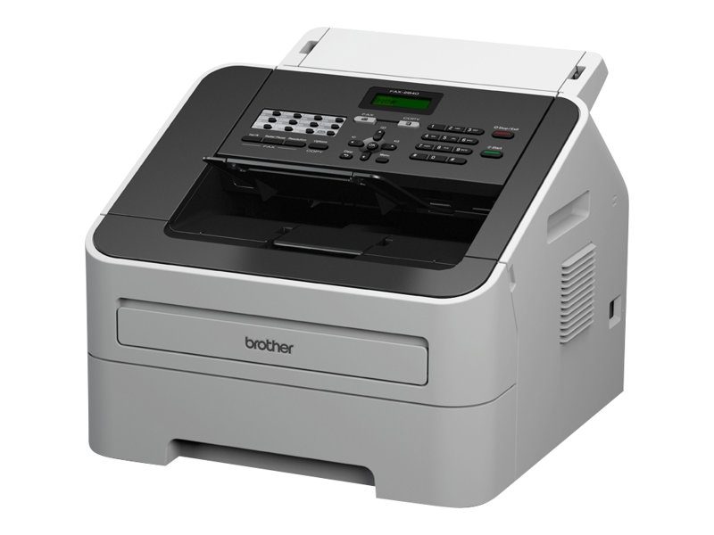 Fax BROTHER n°2840 vue 3/4 droite