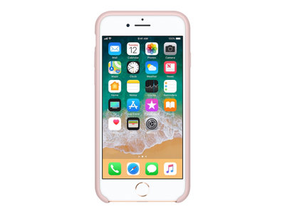 Apple Beskyttelsescover Silicone Pink sand