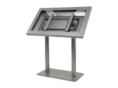 Peerless peerCare Landscape Kiosk Enclosure with Antimicrobial Finish KL546-AB - stand