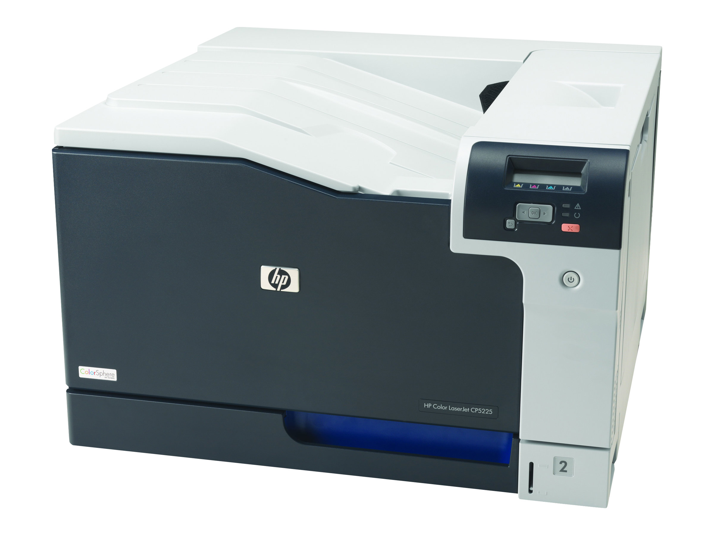 HP Color LaserJet Professional CP5225n - printer - color - laser