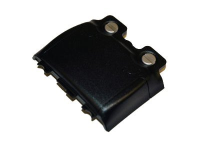 Psion handheld battery door