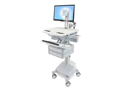 Ergotron StyleView Cart for LCD display / keyboard / mouse / CPU / notebook / barcode scanner