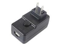 Zebra - Power adapter - AC 100-240 V - Brazil - for Zebra MC3300, MC3330, MC3390, Single Slot Charge only Cradle, TC21, TC25, TC26, TC52, TC57
