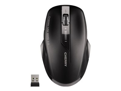 CHERRY MW 2310 2.0 Mouse right and left-handed optical 6 buttons wireless RF, 2.4 GHz