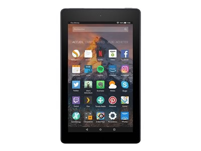 Amazon Fire 7 Tablet Fire OS 5 (Bellini) 8 GB 7INCH IPS (1024 x 600) microSD slot black  image