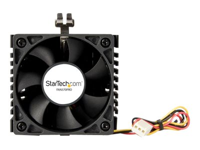 StarTech.com 65x60x45mm Socket 7/370 CPU Cooler Fan w/ Heatsink & TX3 connector - Processor cooler - (Socket 370, Socket 7) - 60 mm