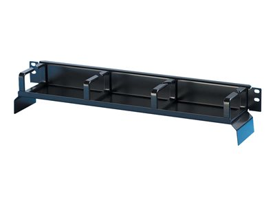 Legrand Bend Limiting Cable Management Panel Rack cable management kit (waterfall) black 1U