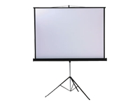 Metroplan Professional Tripod Screen - Projection screen - 16:9 / 4:3 / 1:1 - Matte White