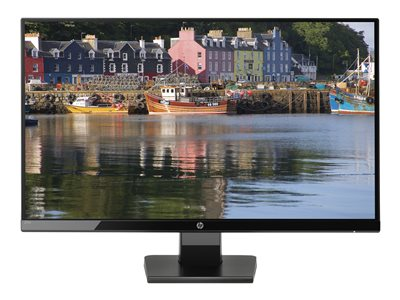 HP 27w 27' 1920 x 1080 VGA (HD-15) HDMI 60Hz