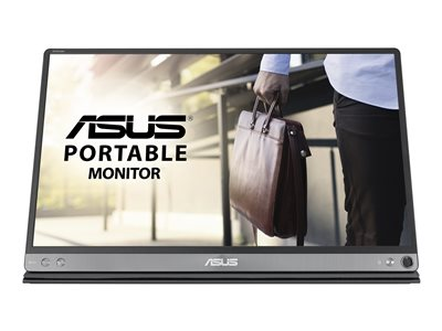 ASUS ZenScreen MB16AC LED monitor 15.6INCH portable 1920 x 1080 Full HD (1080p) IPS  image