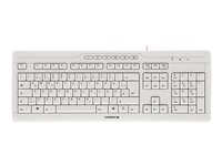 CHERRY STREAM 3.0 Keyboard USB Spanish key switch: CHERRY SX light gray