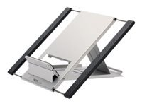 Picture of NewStar Portable Laptop and Tablet Desk Stand - Silver - stand (NSLS100)